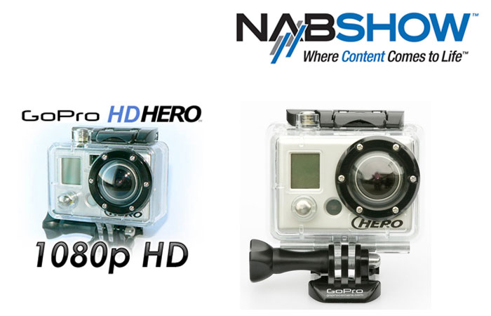 GoPro HD at NAB 2010