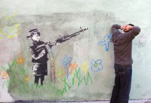 Arrested by Banksy's Work